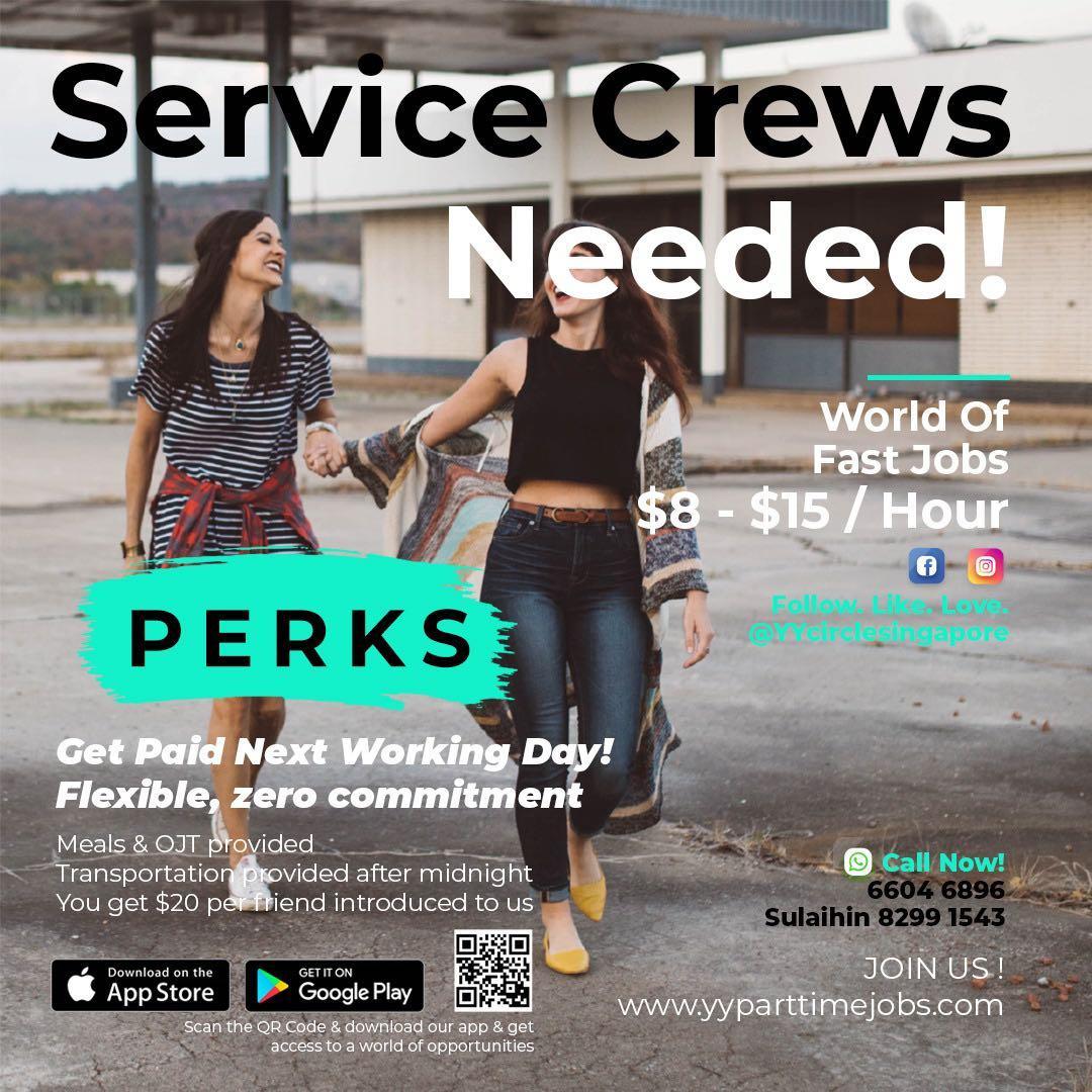 URGENT FNB HOTEL SERVER $10/HR WORK WITH FRIENDS
