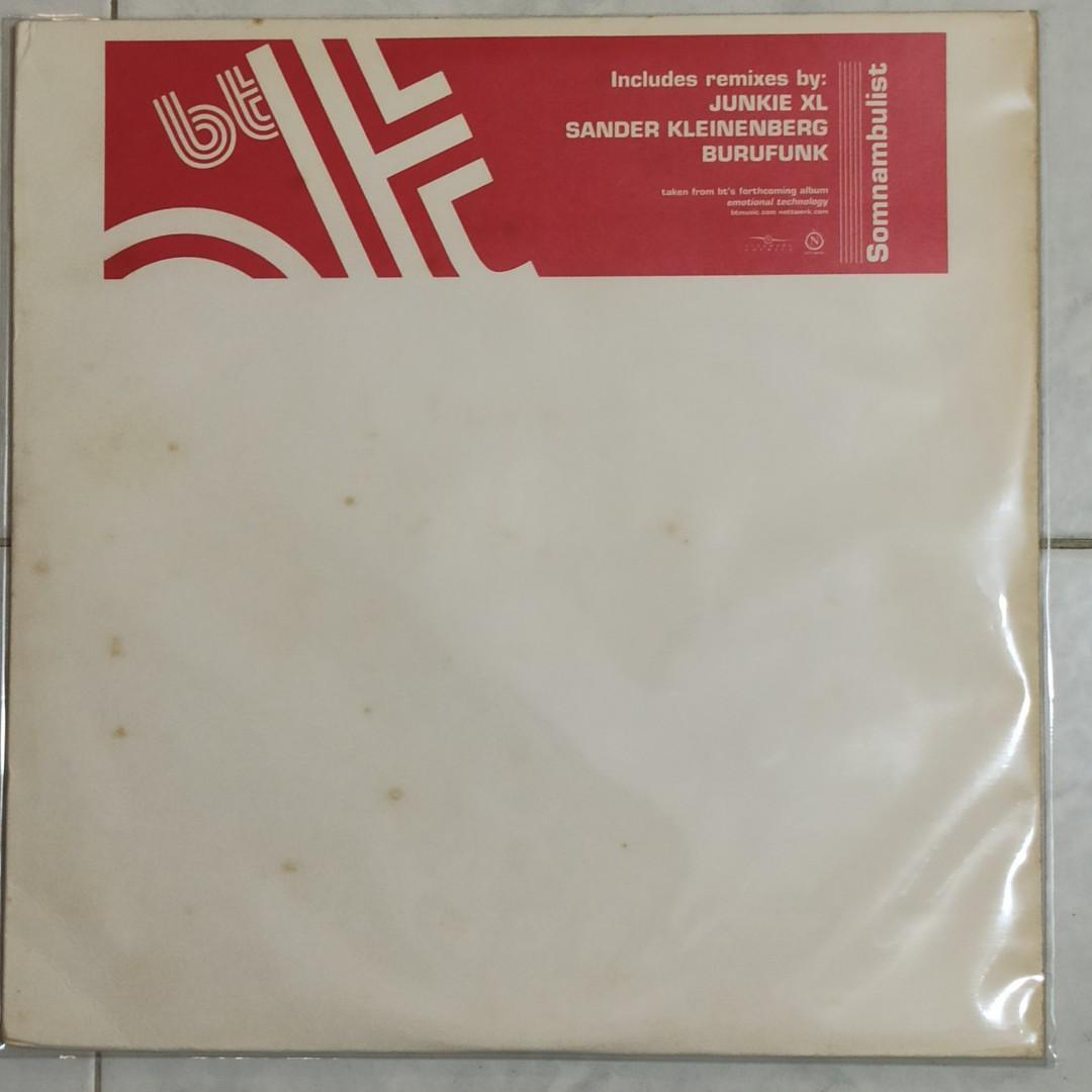 """Vinyl 12"""" Single : BT ~ Somnambulist"""