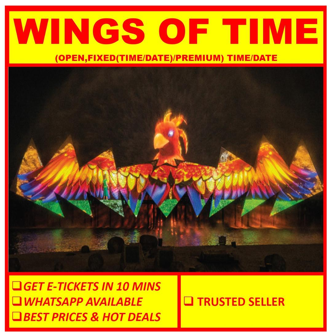 WINGS OF TIME // WOT [ E TICKET]
