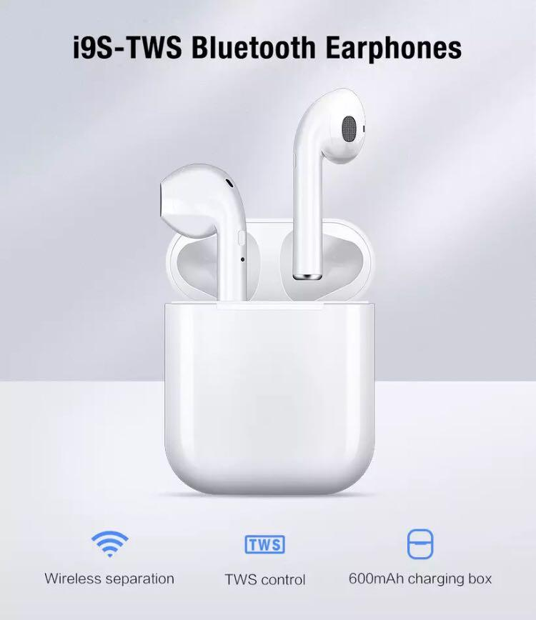 Wireless earphones Bluetooth supports iPhone android