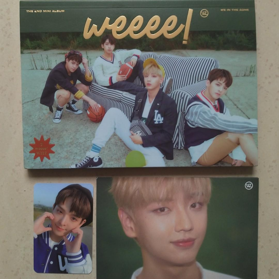[WTS] WE IN THE ZONE - WEEEE! (2ND MINI ALBUM) Unsealed