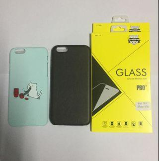 iPhone 6/6s Hard Case & Screen Protector