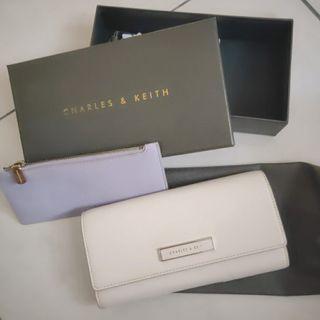 Charles and Keith 🖤吊牌盒子收納袋都在,超可愛的配色!