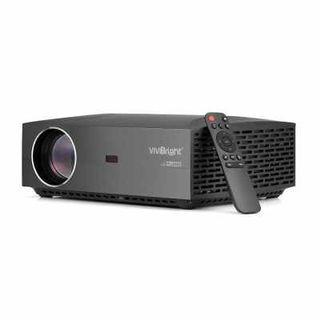VIVIBRIGHT F30UP LCD Projector Home Entertainment Commercial FHD 1920 x 1080P 4200 Lumens Android + Bluetooth 4.0 (Black) EU PLUG WITH ANDROID SYSTEM