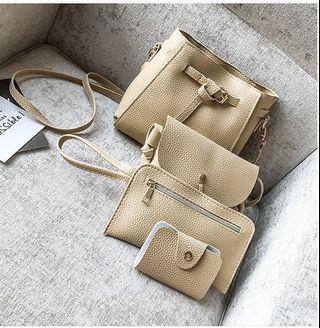 Bag 4in1-Khaki-PU