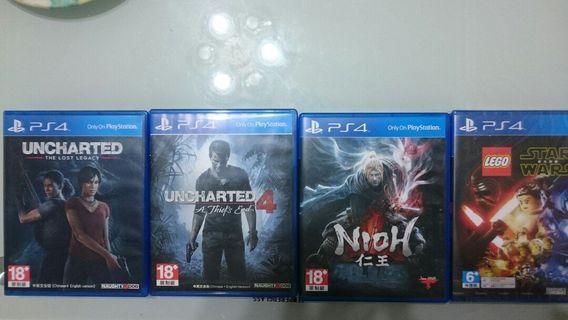PS4遊戲出清