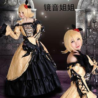 RENT/SALE Rin Vocaloid Ballgown Cosplay Costume
