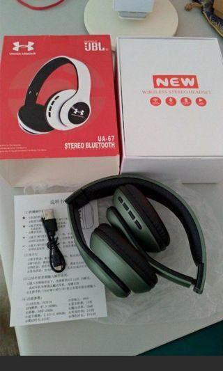 ♥雙11~正品UA藍牙耳機(限量墨綠色)