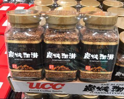 Costco好市多 UCC 炭燒即溶咖啡 90g x3瓶入  Sumiyaki coffee