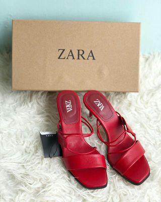 Sepatu ZR Red 558 Free Box