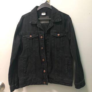 Zara Denim Jacket (Black)