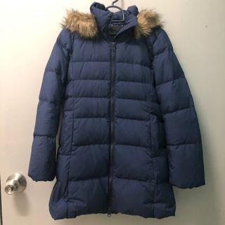 Uniqlo Girl Winter Jacket (Dark Blue)