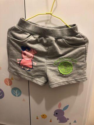 女童棉質短褲