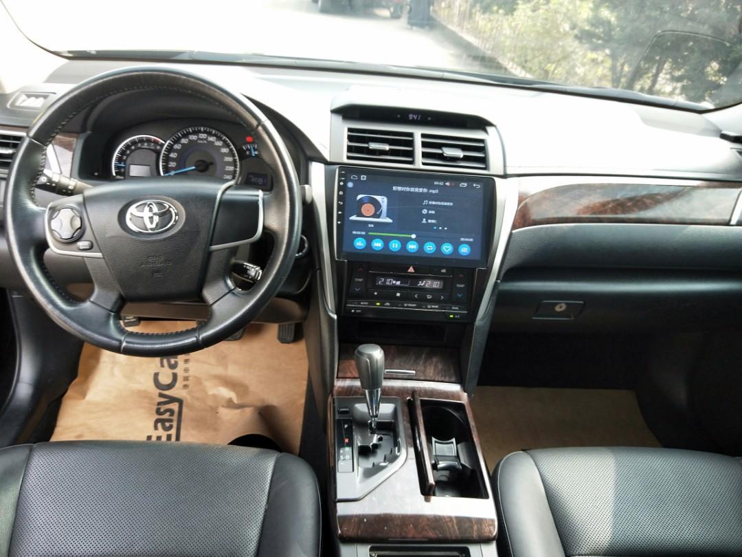 2015 Camry 定速、I key、恆溫空調、安卓機大螢幕、倒車顯影、電動椅