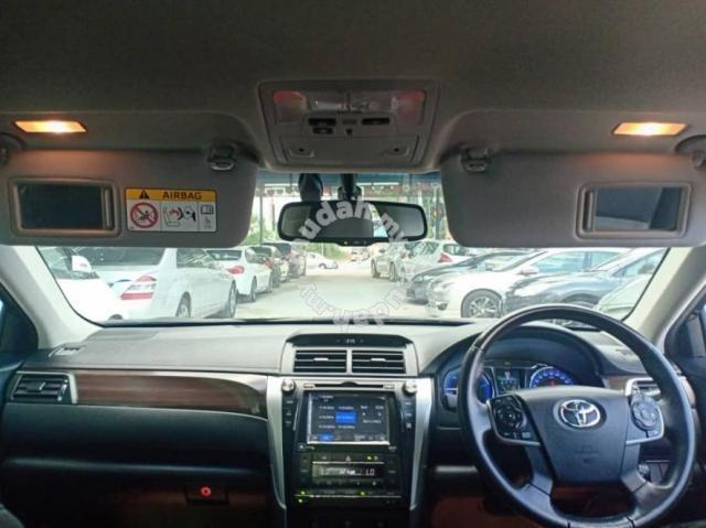 2016 Toyota CAMRY 2.5 HYBRID FACELIFT (A) WARRANTY
