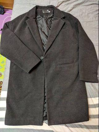 男友的大衣及長褲