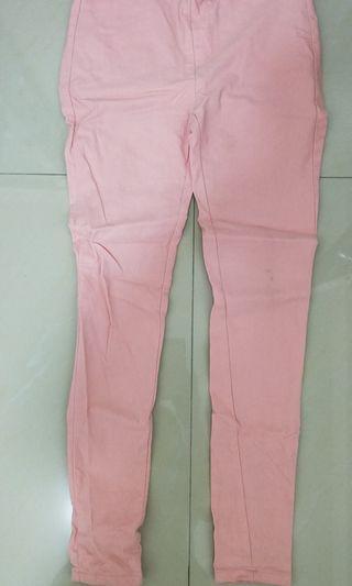 內搭褲 粉色 M