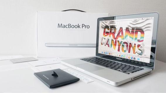 MacBook Pro 13 inch MD101 ID 2012 Fullset