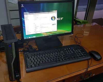 Acer Veriton L480(19吋螢幕.鍵盤.滑鼠)