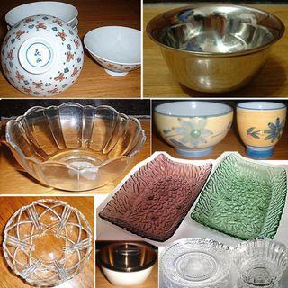 樂美雅強化玻璃碗 沙拉碗 冰淇淋碗 瓷碗不銹鋼碗、雙層隔熱碗、玻璃水果盤、茶碗蒸杯碗、RomanceROSE水晶玻璃碗盤