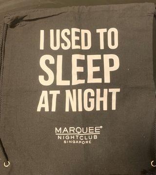 Marquee Drawstring Bag