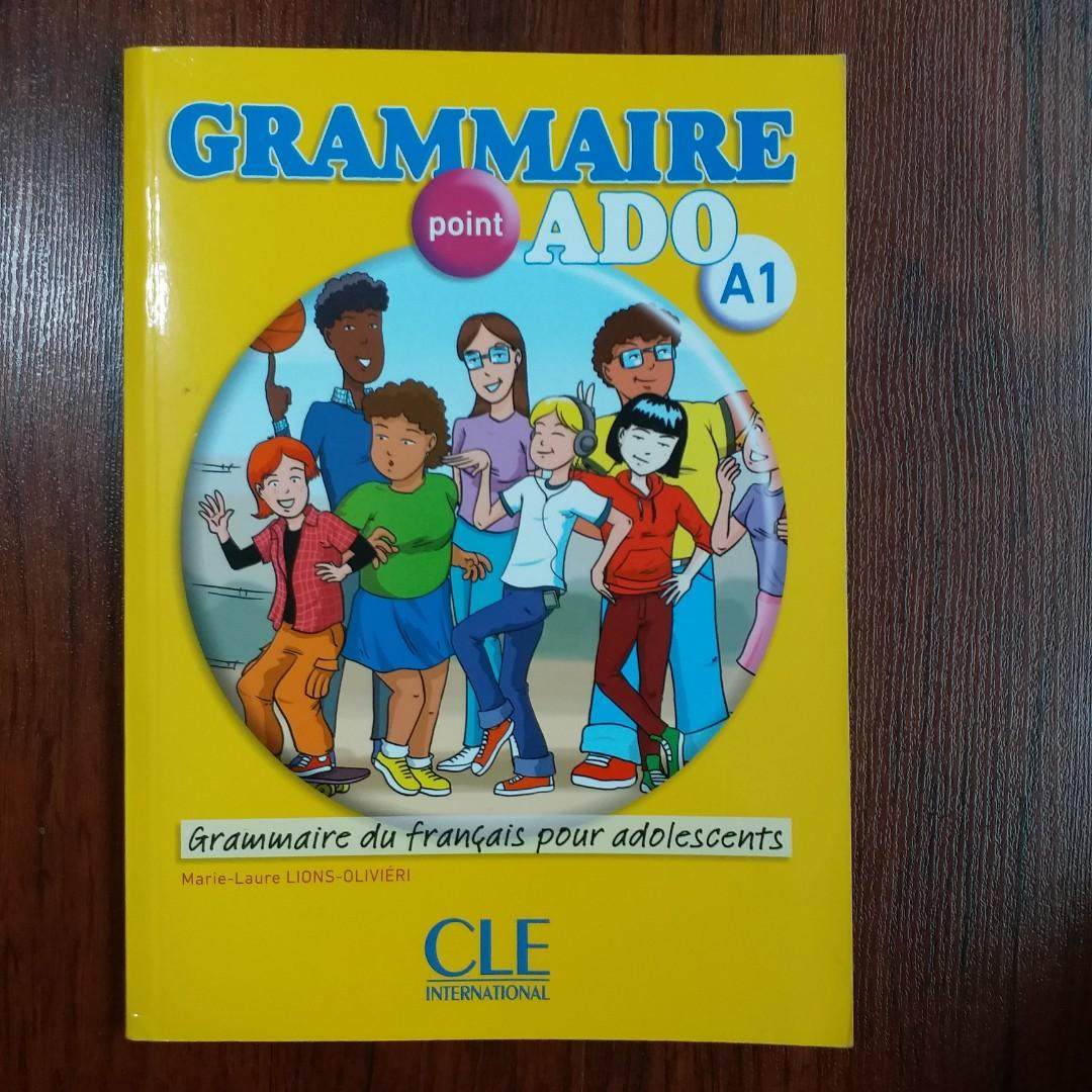 Grammaire Point Ado A1 French Textbook Books Stationery Textbooks Secondary On Carousell