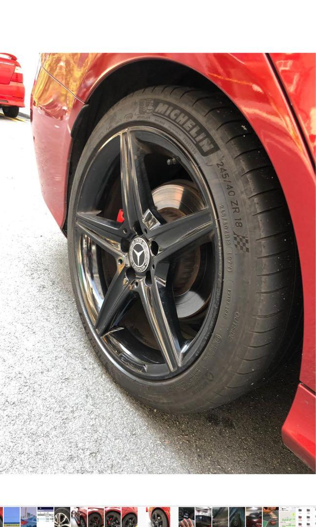 AMG 車軨 車鈴 連車軚 c仔 c class e class Benz