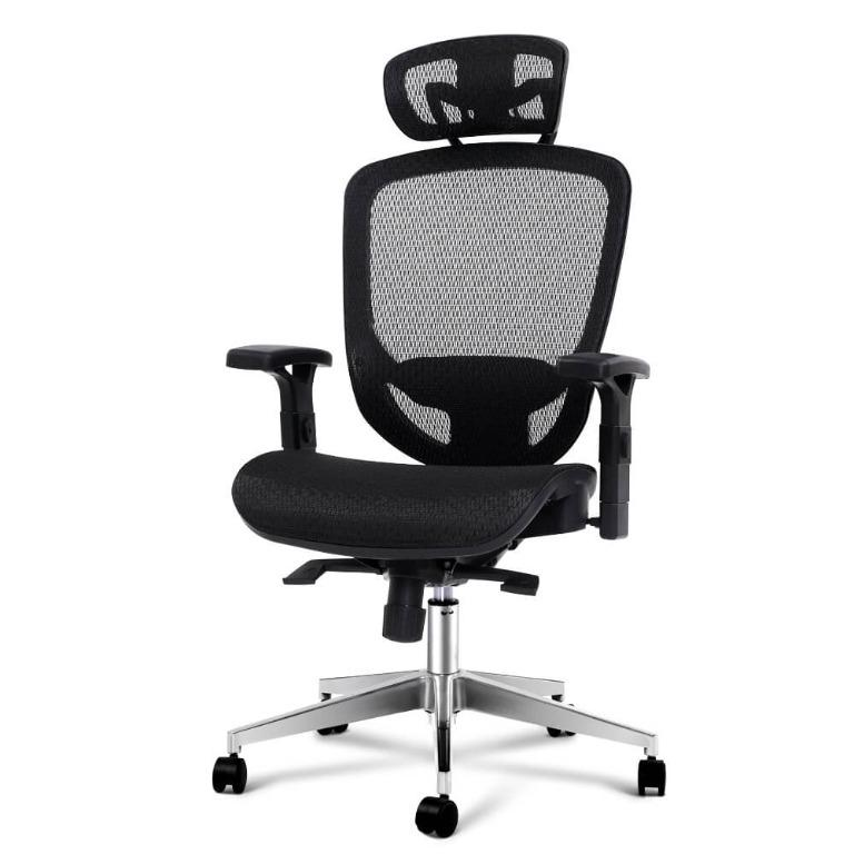 Artiss Office Chair Gaming Chair Computer Chairs Mesh Net Seating Black