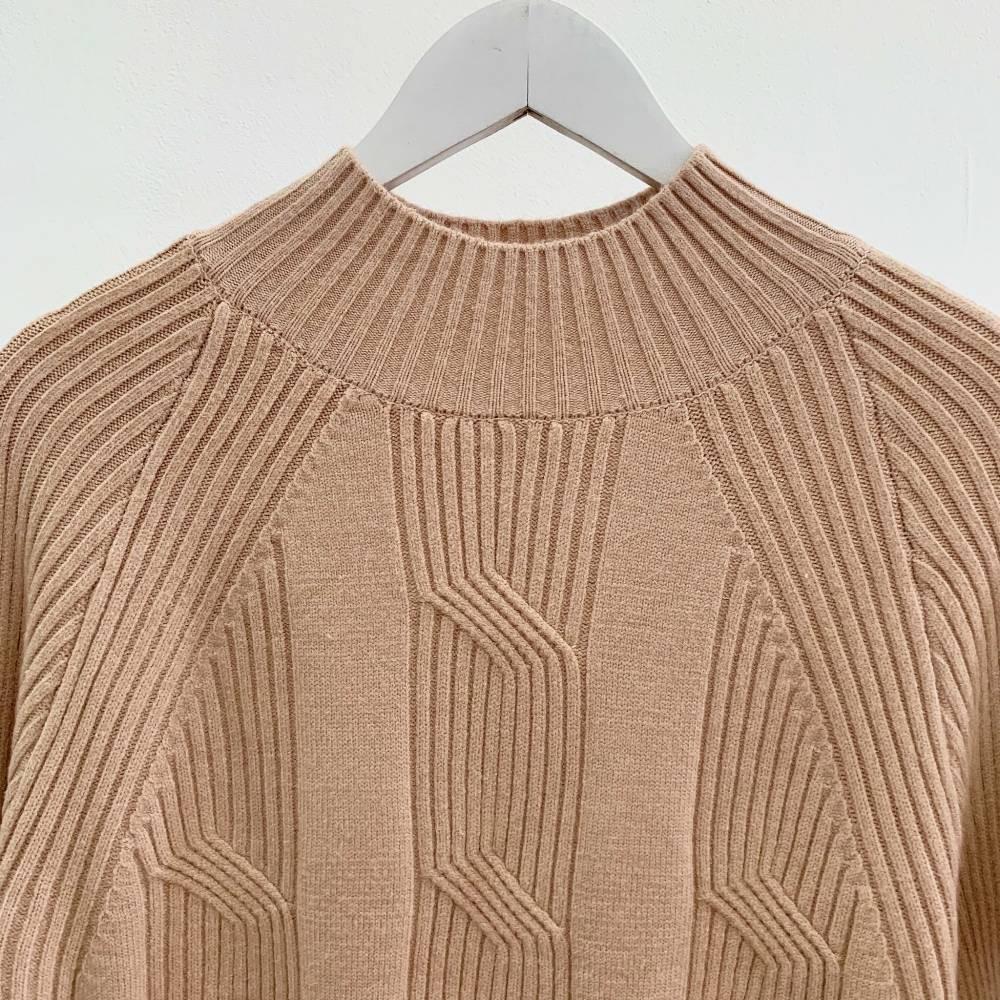 BL1491 Aztec Textured Premium Knit Sweater sweater rajut import kaos sweater import kaos panjang rajut baju korea baju rajut import
