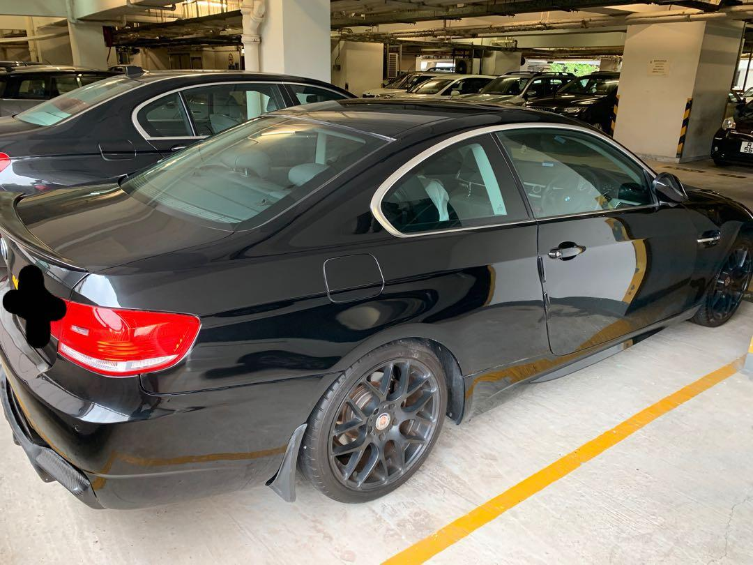 BMW 323I coupe 雙門 2008