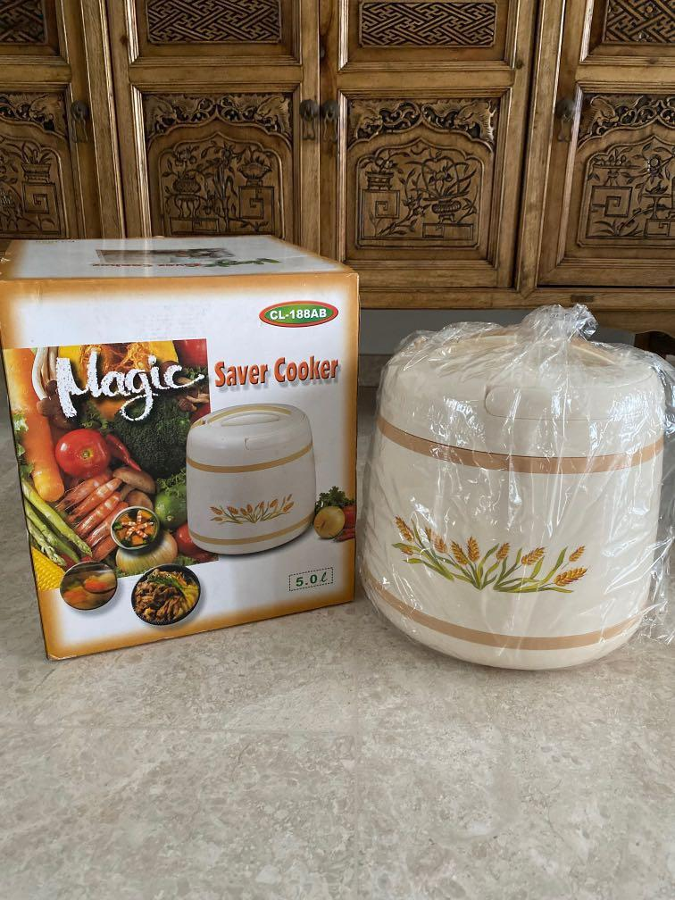 BN 5.5L Cosway Thermal Insulated Cooking Pot/Magic Cooker