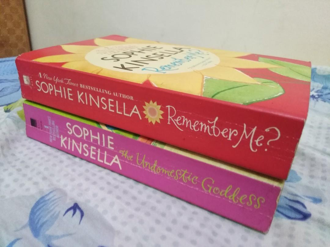 Bundle - The Undomestic Goddess, Remember me by Sophie Kinsella