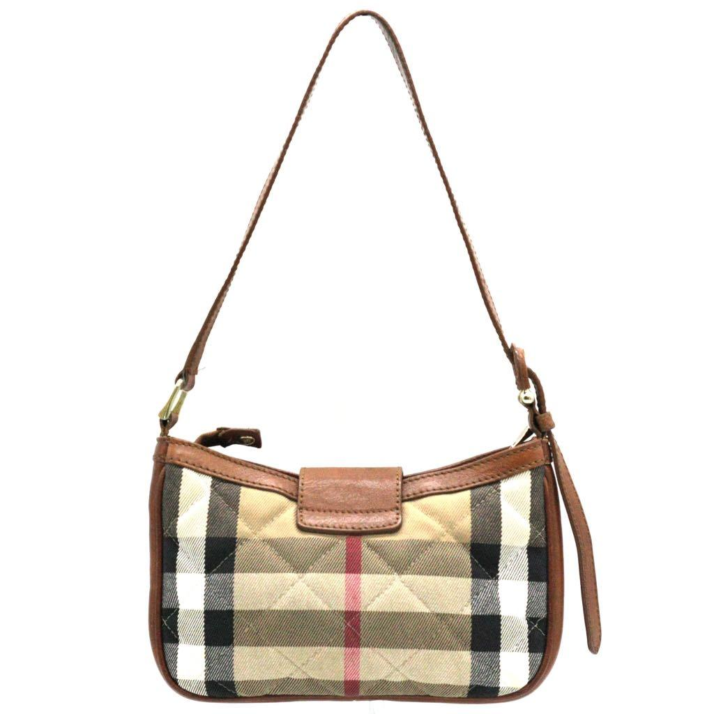 BURBERRY Brown Quilted Check Small Sophie Shoulder Bag