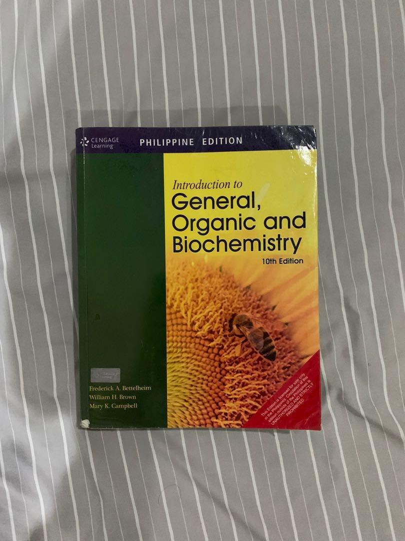 Campbell 10th Edition Introduction to General, Organic, and Biochemistry