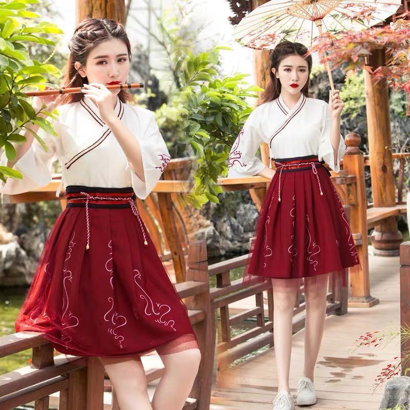 Chinese hanfu costume