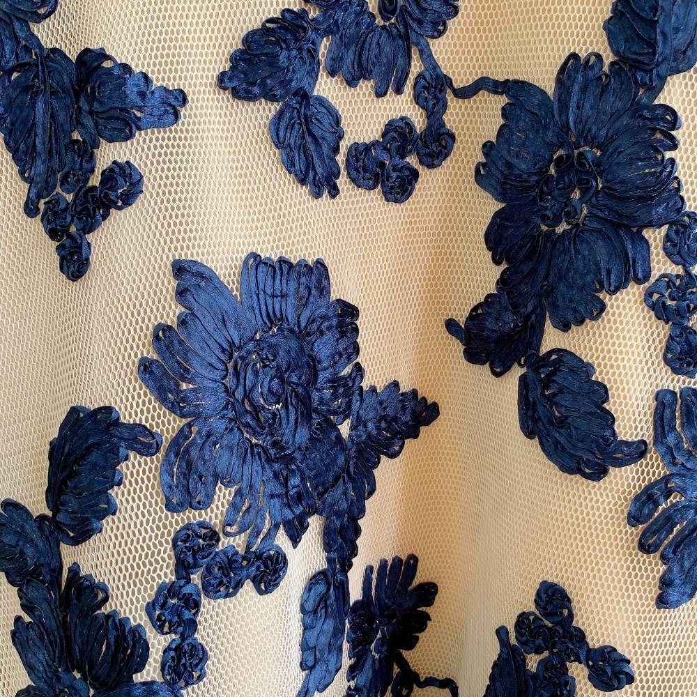 D6891 3D Crochet Sabrina Luxury Dress sanrina dress pesta dress kondangan dress pendek sabrina dress kombiansi dress brukat sabrina