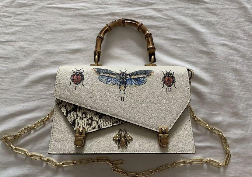 Gucci Top Handle Handbag Ottilia Season 2017/2018 Original Price $5800