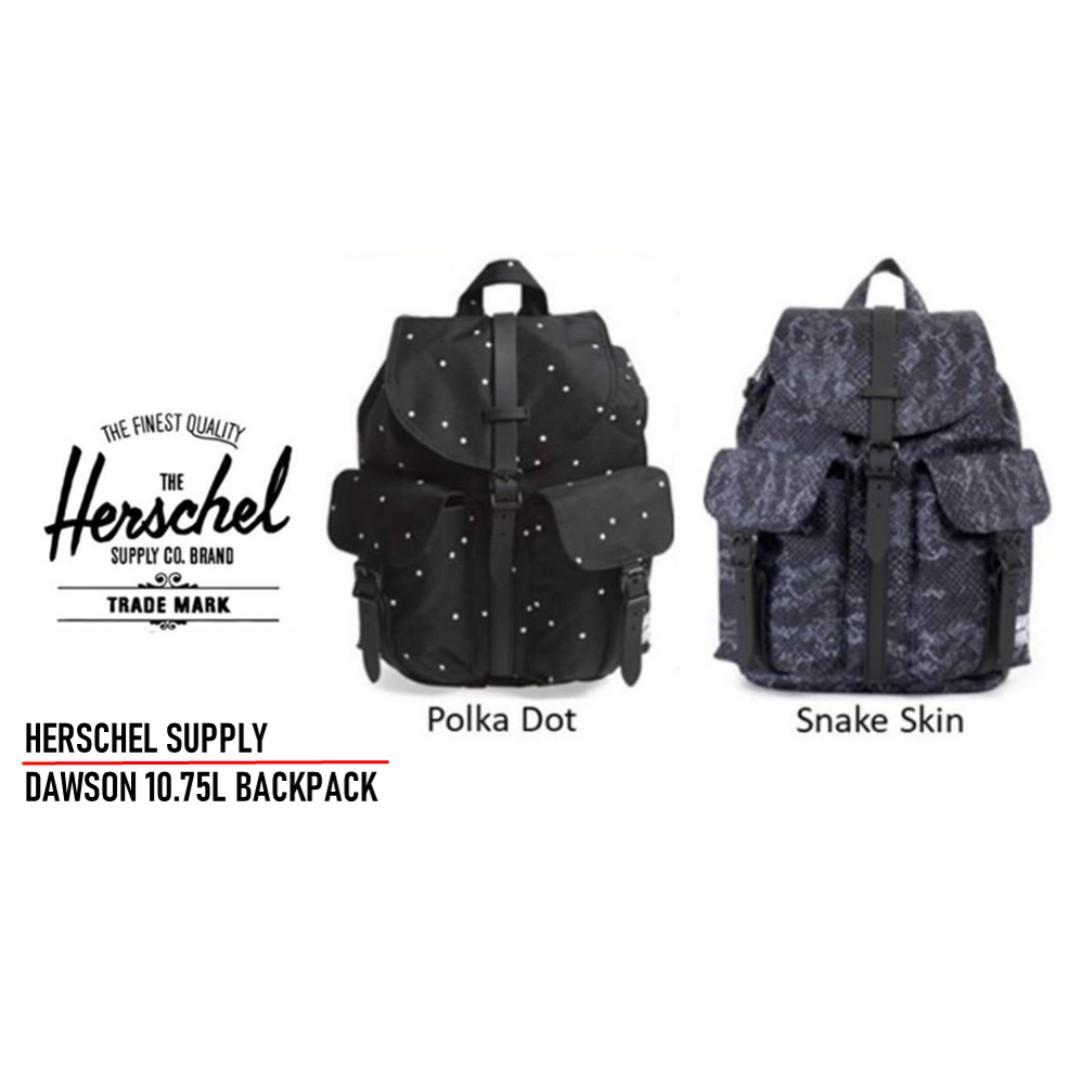 Herschel Dawson Backpack / Herschel / Herschel Supply Dawson Backpack / Herschel Dawson / Herschel Dawson 10.75L Backpack / Herschel bag / Herschel Backpack