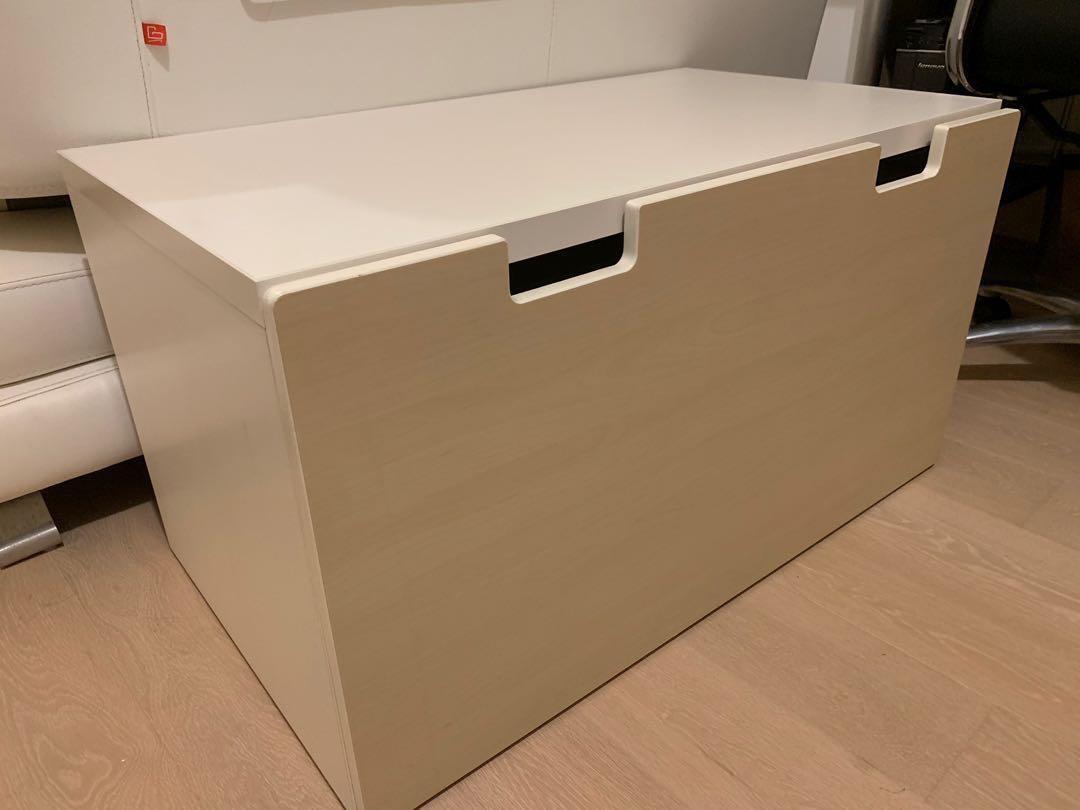 Ikea 木製櫃物箱