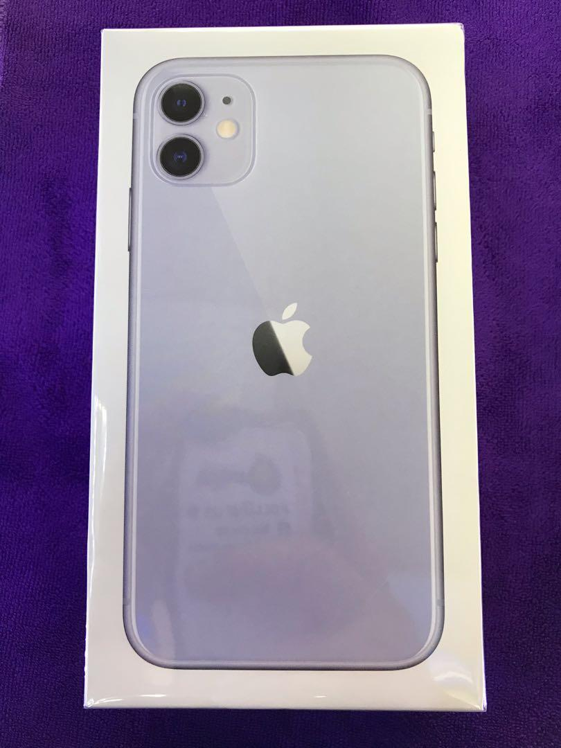 IPhone 11 128GB (Purple) New