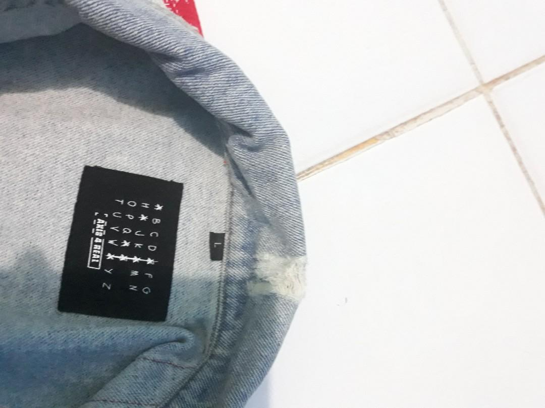 jaket jeans AXIS LAB RING