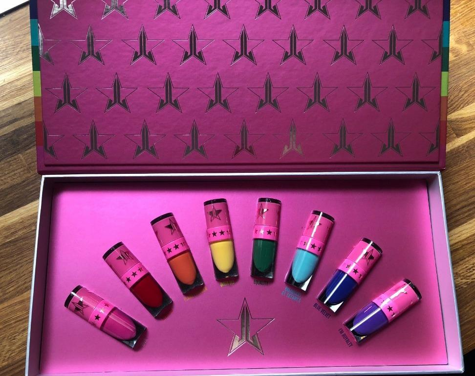Jeffree Star Cosmetics Mini Velour Lipstck Equality Bundle. BRAND NEW & AUTHENTIC [NO SWAPS, PRICE IS FIRM]