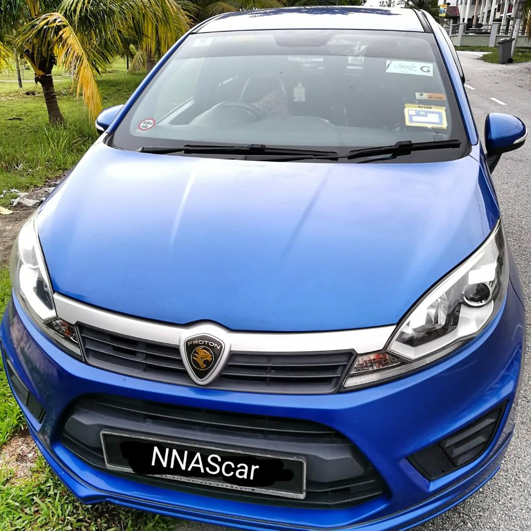 KERETA SEWA | CAR RENTAL | Proton IRIZ 1.3 Executive Auto