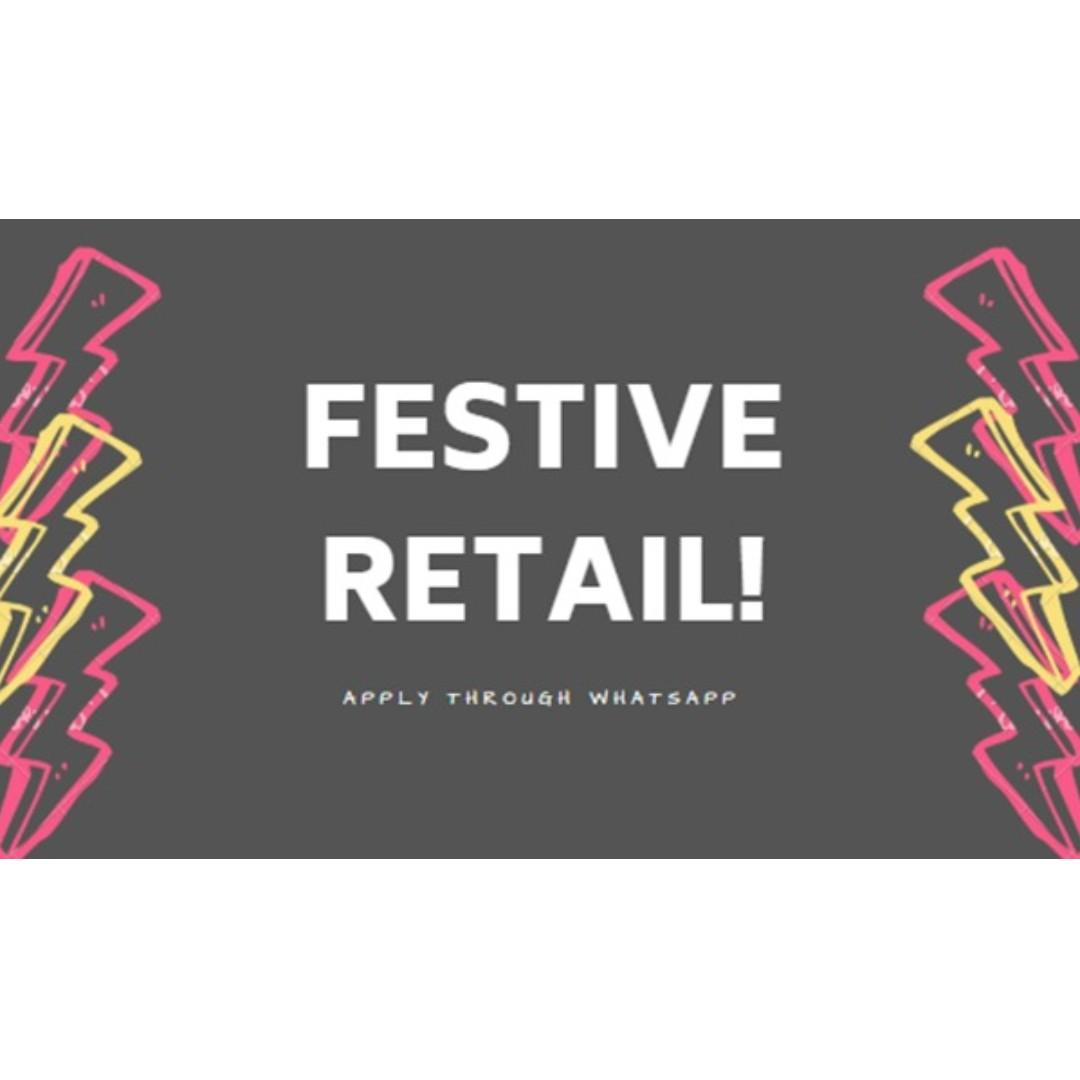 MASS RETAIL ASSISTANTS/CASHIERS NEEDED (NORTH/NORTHEAST)