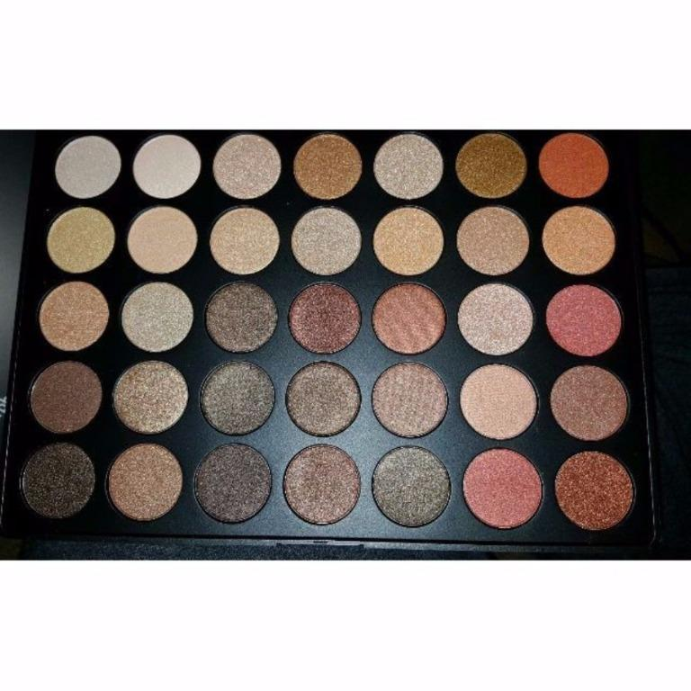 MORPHE BRUSHES 350S ALL SHIMMER COLOR NATURE GLOW EYESHADOW PALETTE NEW & AUTHENTIC (NO SWAPS, PRICE IS FIRM)