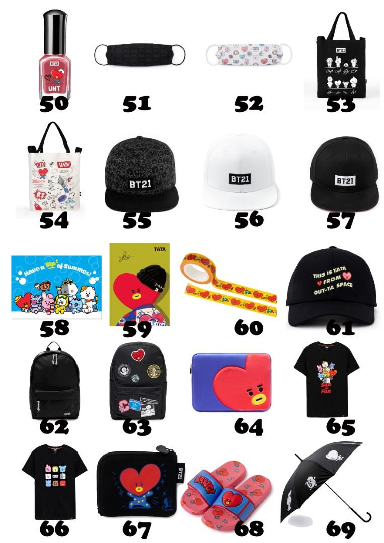 【MY GO】BT21 Official Merchandise in TW 💜TATA Series 4💜