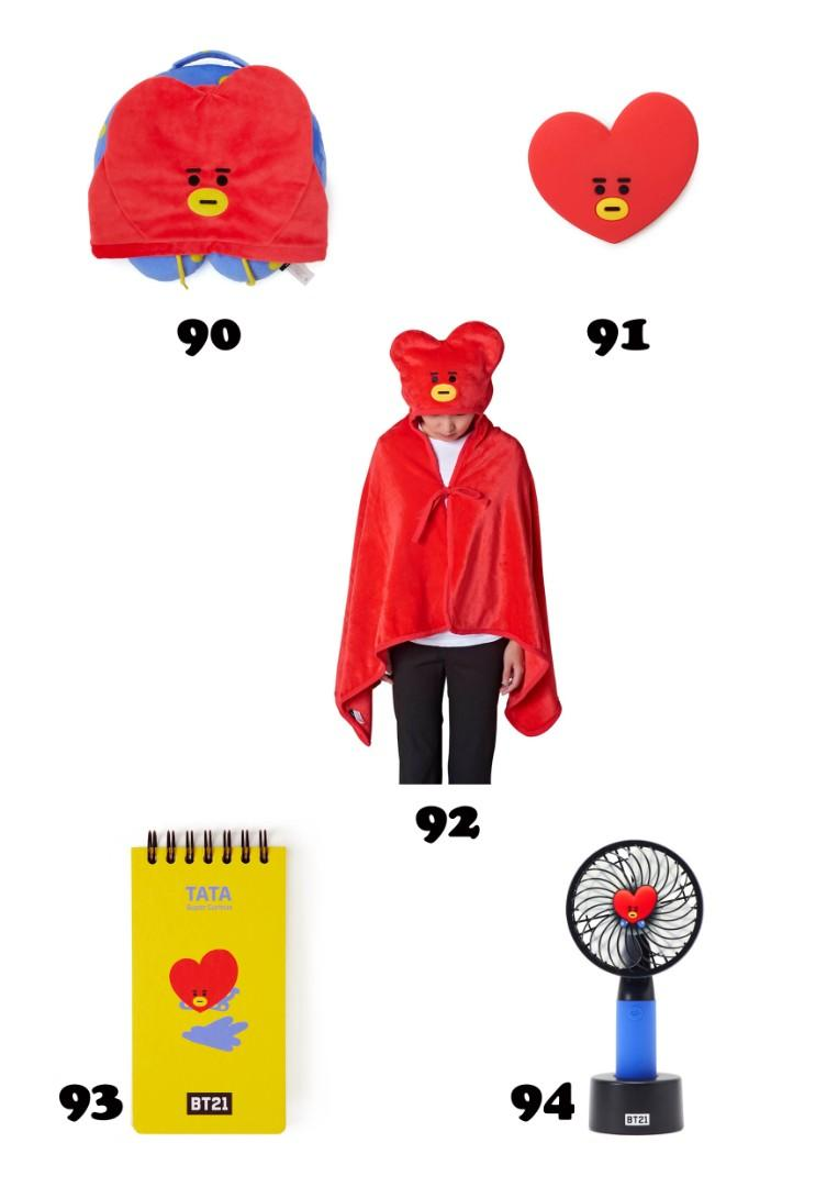 【MY GO】BT21 Official Merchandise in TW 💜TATA Series 6💜