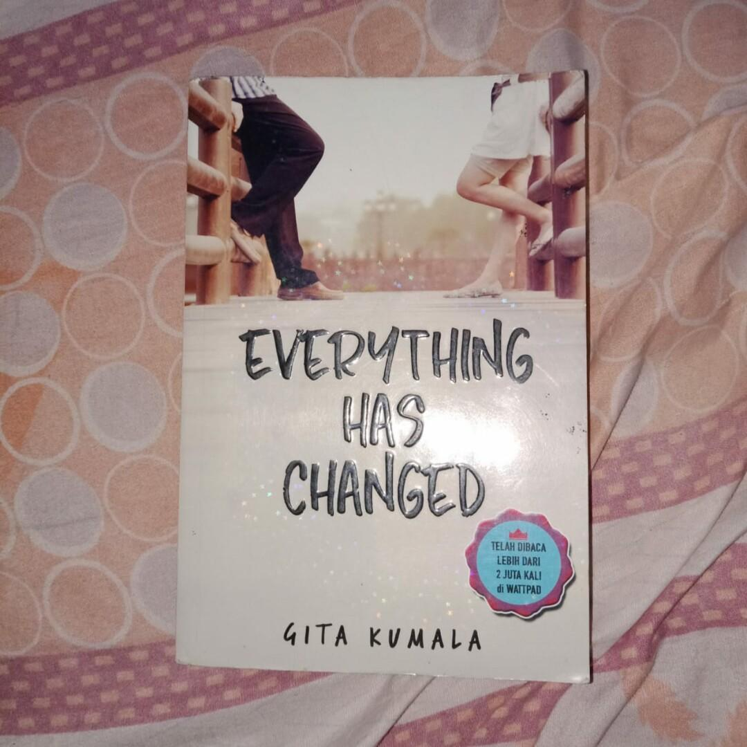 Novel everything has changed