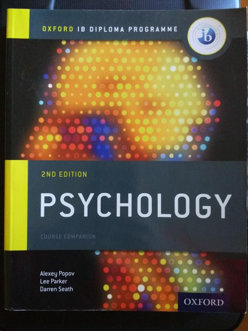 As New, Oxford IB Diploma Psychology - Course Companion