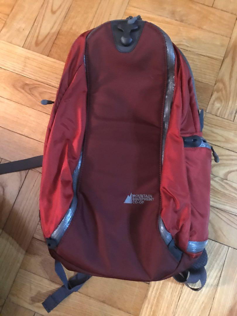 Pangea 60 MEC Mountain Equipment Coop 2005 Backpack with Daypack and Rain Cover